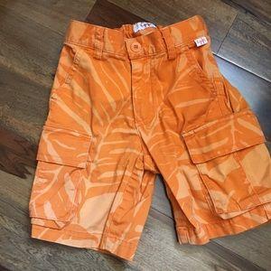 Stylish Italian brand cargo shorts